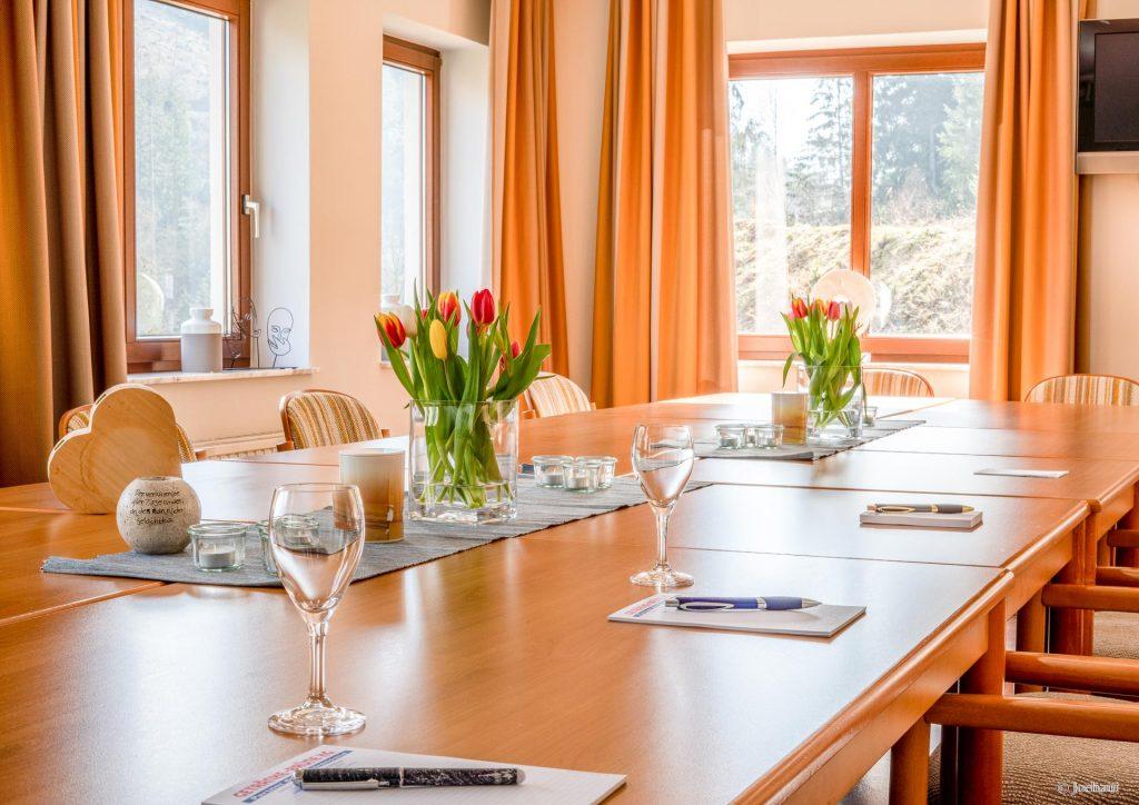 Seminarraum im Landhotel Baumwipfel in Willingen