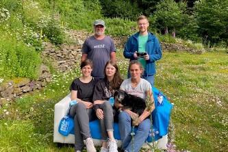 Geologen-Gruppe im Landhotel Baumwipfel