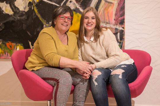 Margit und Marla Heuser