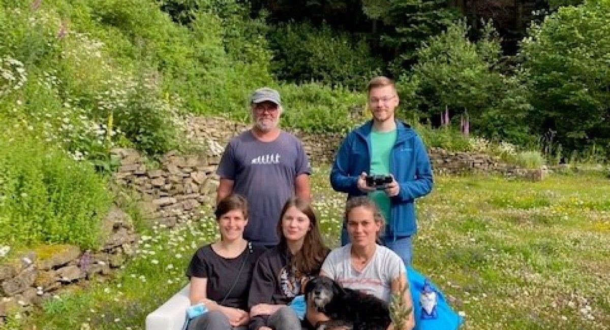 Eine Geologen-Gruppe bei uns im Landhotel Baumwipfel 2